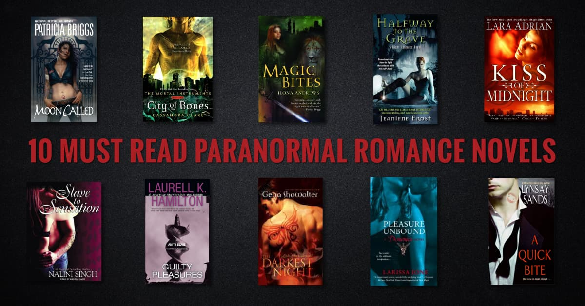 10 Must Read Paranormal Romance Novels