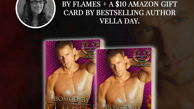 Enter To Win BOUND BY FLAMES by Bestselling Author Vella Day!