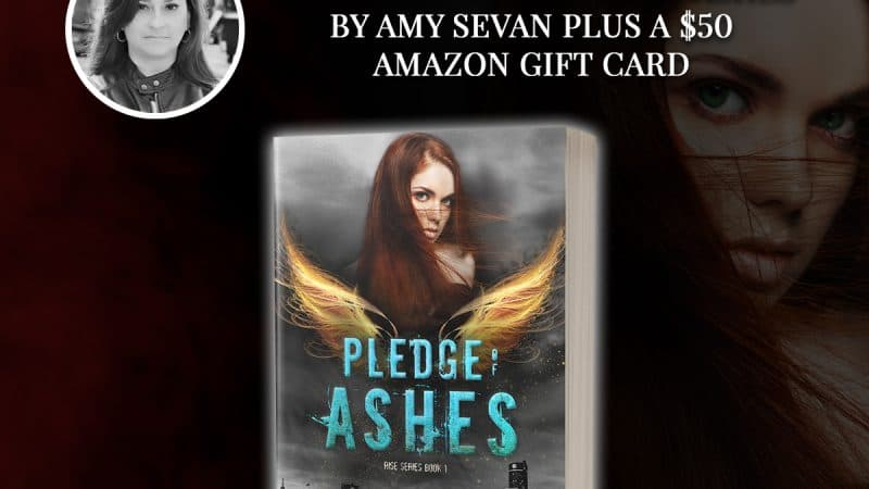 Enter To Win CURSE OF ASHES by Amy Sevan