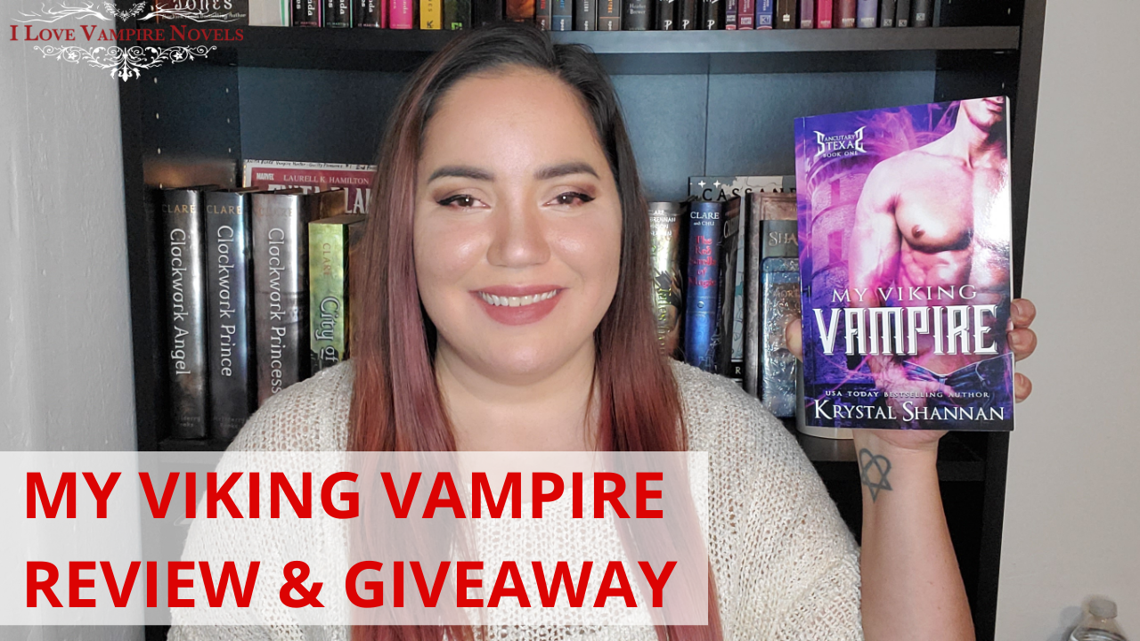 MY VIKING VAMPIRE by Krystal Shannan – Review & Giveaway!