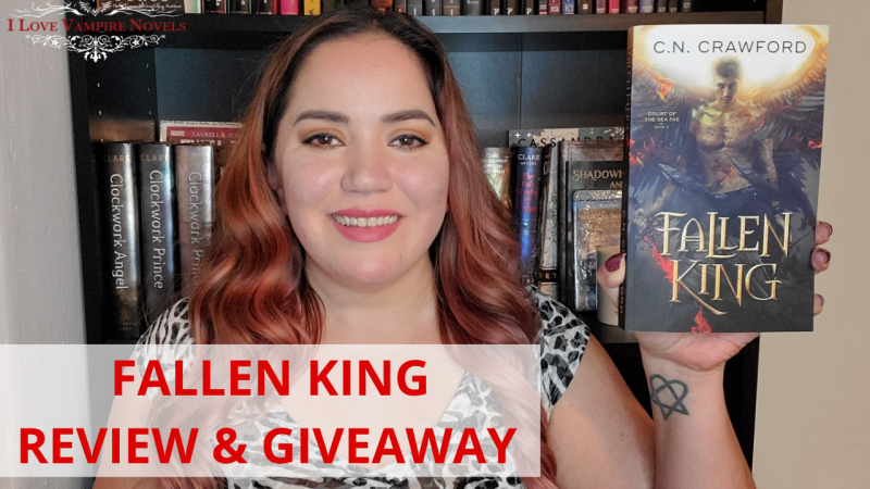 FALLEN KING by C.N. Crawford – Review & Giveaway!