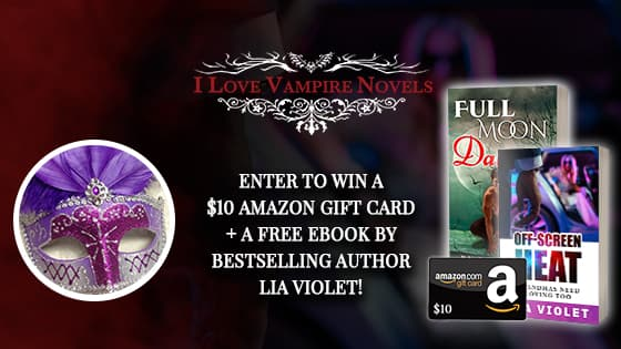 Win A $10 Amazon Gift Card + Free Ebooks From Lia Violet!