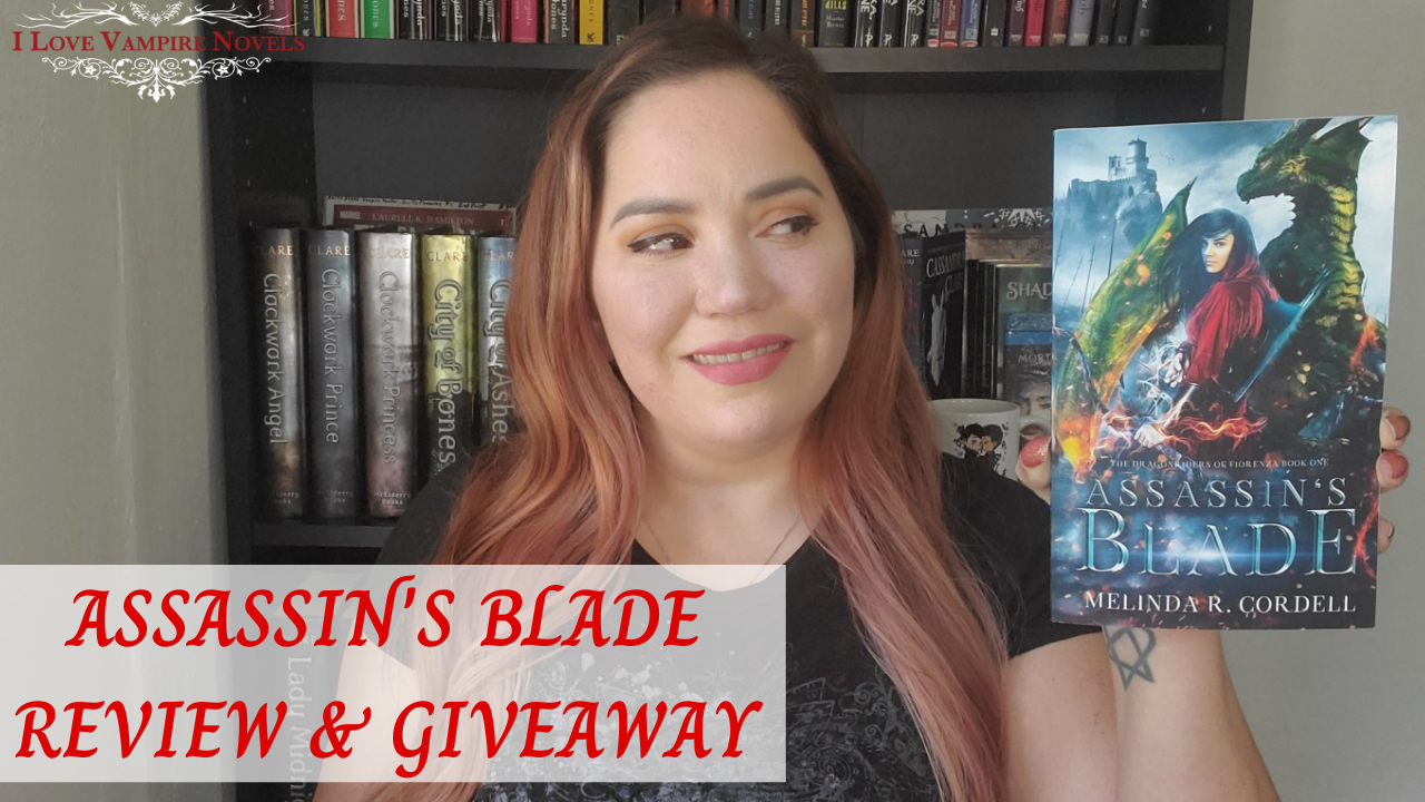 ASSASSIN'S BLADE by Melinda R. Cordell – Review & Giveaway!