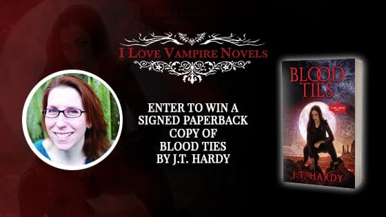 Win A Signed Paperback Copy of BLOOD TIES by J.T. Hardy!
