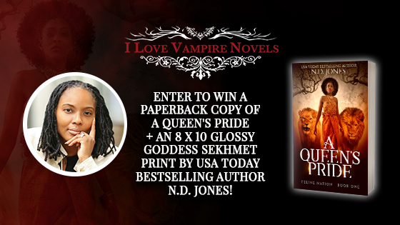 Win A Signed Paperback & Poster From USA Today Bestseller N.D. Jones!