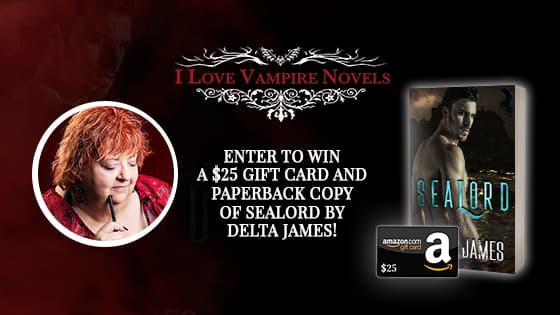Win A $25 Gift Card & Paperback Copy of SEALORD by Delta James!