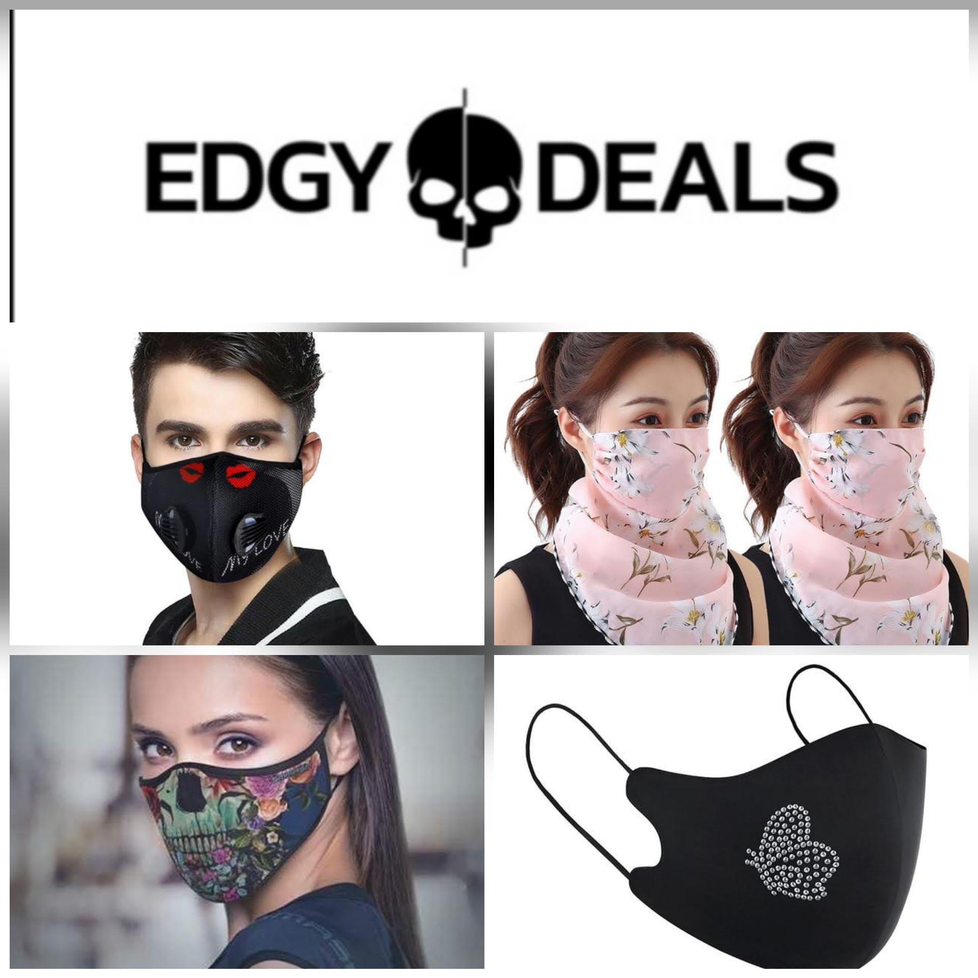 Save Big On Stylish Face Coverings