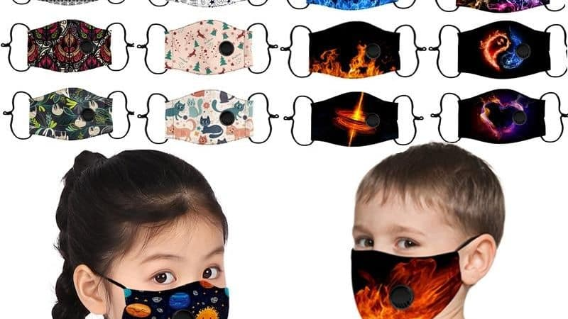 Fire & Nature Kids Reusable Face Covers