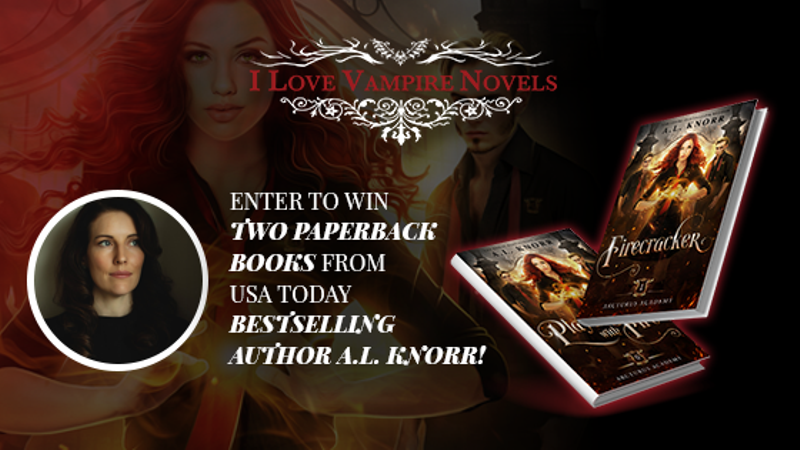 Win Two Paperback Books From USA Today Bestselling Author A.L. Knorr!
