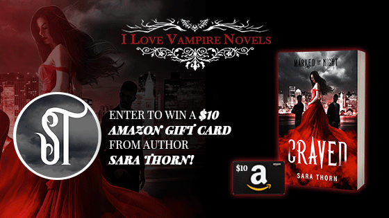 Win A $10 Amazon Gift Card From Author Sara Thorn!