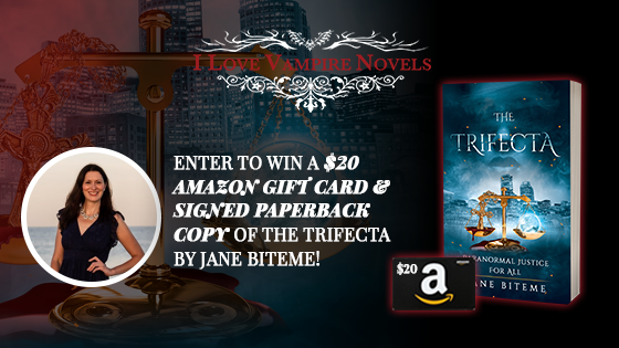 Win A $20 Amazon Gift Card & Signed Paperback Copy Of The Trifecta by Jane Biteme!