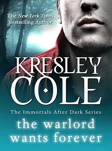 Best Vampire Books: Kresley Cole Warlord Wants Forever