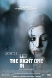 Let The Right One In (2008) Vampire Movies With Romance
