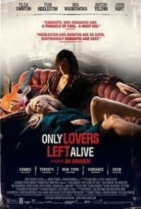 Only Lovers Left Alive (2013) Vampire Movies With Romance