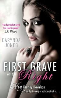 Paranormal romance books: first grave on the right