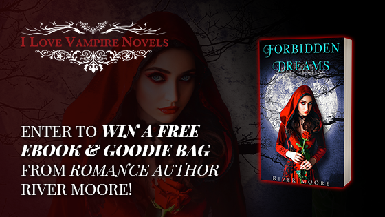 Enter to win a free ebook and goodie bag from romance author River Moore