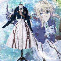 cosplay anime: violet evergarden