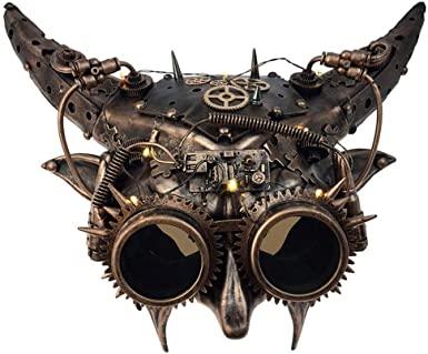 steampunk goggles: devilish half mask